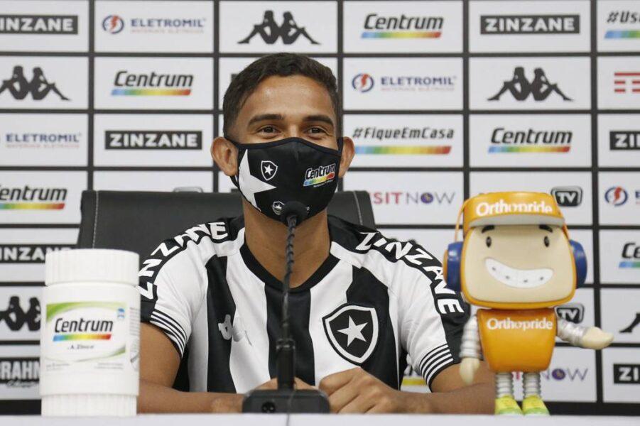 Reforço do Botafogo, Marco Antônio se inspira em Neymar