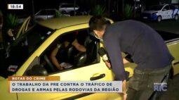 Matéria exclusiva: o trabalho da Polícia Rodoviária Estadual contra o tráfico de drogas