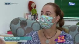 É preciso ficar atento ao desgaste das máscaras de tecido