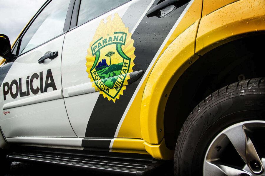 Homens explodem agência bancária em Quitandinha, na Região Metropolitana de Curitiba