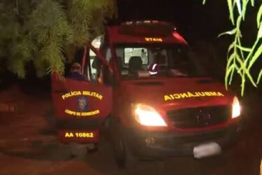 Bebê fica ferido após ser atingido por televisão em Cascavel