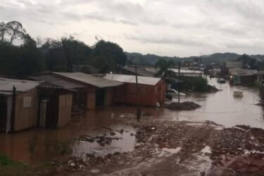Chuvas afetam 4,5 mil pessoas em nove municípios