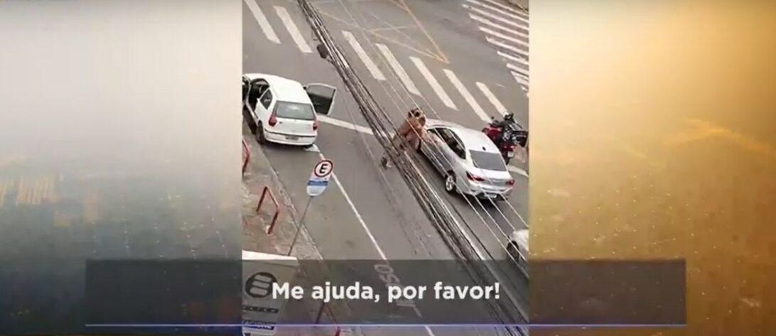 Contador estaciona em vaga de idoso e é preso na frente da filha; carro tinha R$ 32 mil em multas e 192 infrações
