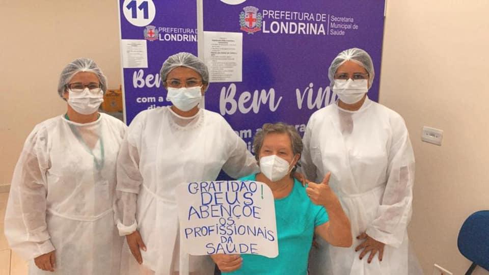 Londrina amplia locais de vacinação para aplicação da segunda dose contra a covid-19