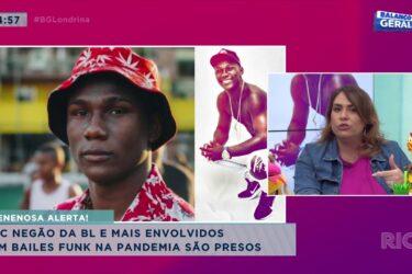 Mc Negão e mais envolvidos em bailes funk na pandemia são presos