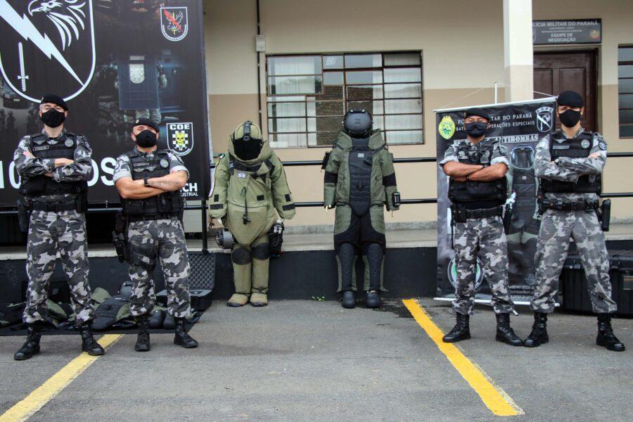Esquadrão Antibombas recebe traje de R$ 1,2 milhão para atender ocorrências