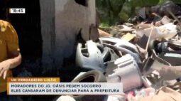 Moradores reclamam de lixão para a prefeitura