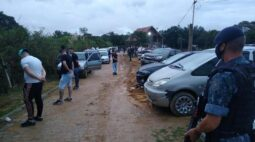 Festa clandestina em chácara termina com multa de mais de R$ 300 mil