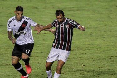 Com gols de artilheiros, Fluminense e Vasco ficam no empate pela Taça Guanabara