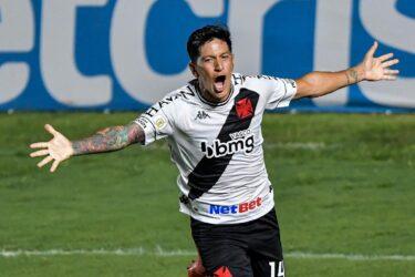Com gol contra o Flu, Cano se torna quinto maior artilheiro estrangeiro do Vasco