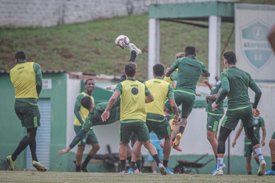 Coritiba fará sequência de treinamentos em Joinville