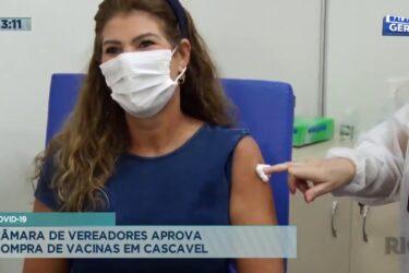 Covid-19: câmara de vereadores aprova compra de vacinas em Cascavel