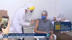 Vacina não encerra cuidados e vacinados ainda podem adoecer
