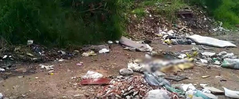 Mulher é encontrada morta em lixão