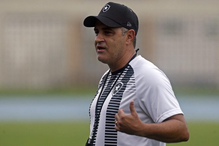 Chamusca sobre Botafogo: 'Nosso objetivo é estar entre os quatro'