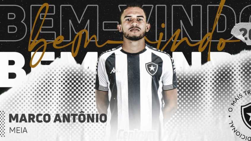 Marco Antônio é regularizado e pode estrear pelo Botafogo