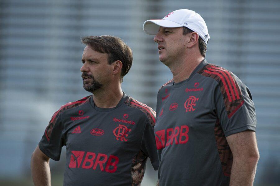 Maurício Souza exalta parceria com Rogério Ceni no Flamengo