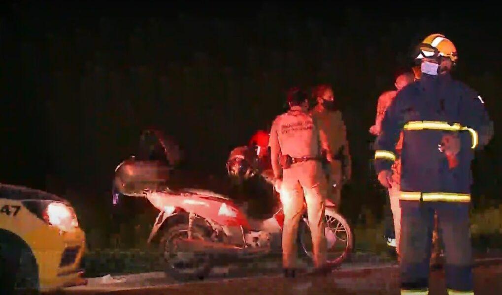 Motociclista morre em acidente grave no Contorno Sul