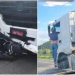Homem que ficou pendurado em caminhão por mais de 20 quilômetros deve receber alta ainda hoje (7)