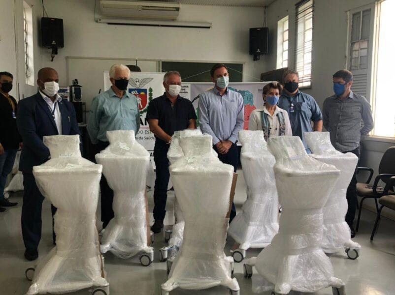 Cooperativas fazem doação para abertura de novos leitos de UTI em Ponta Grossa
