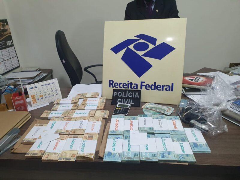 Doze suspeitos são presos em Londrina por envolvimento com esquema bilionário de sonegação fiscal