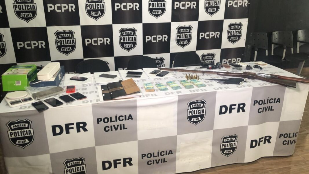 Membros de associação criminosa são presos por roubo milionário em empresa de pneus de Curitiba