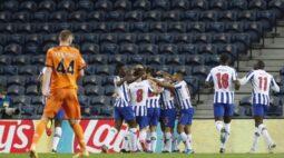 Porto é multado pela Uefa por atraso em jogo contra Juventus