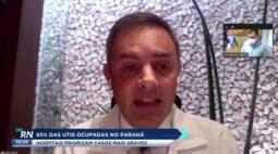 93% dos leitos de UTIs no Paraná estão ocupados: hospitais priorizam casos mais graves