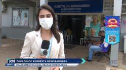 Zoológico empresta respiradores à hospital para tratar infectados de COVID-19