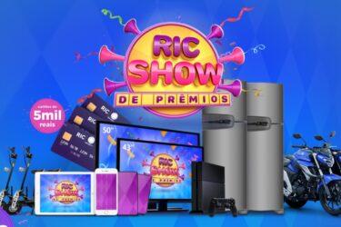 RIC Show de Prêmios divulga nomes de ganhadores no site