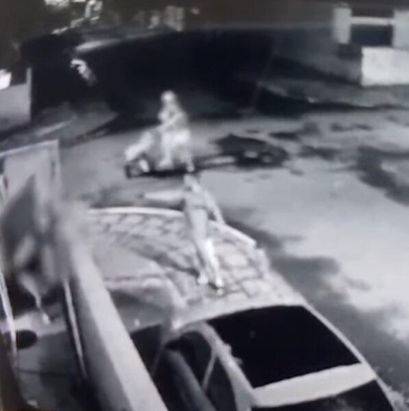 Vídeo registra tentativa de assassinato; vítima pode ter sido atingida por engano