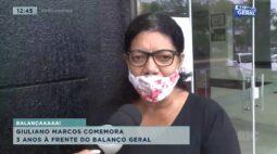 Giuliano Marcos comemora 3 anos à frente do Balanço Geral Londrina