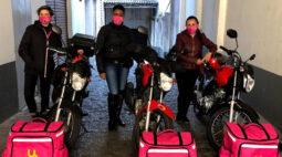 Empreendedora do Paraná cria empresa de entregas somente com mulheres e supera crise