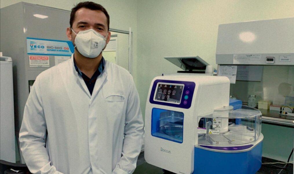 Testagem para covid-19 no Hospital Municipal de Foz será mais rápida com a ajuda de Itaipu