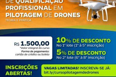 PTI abre turma de pilotagem profissional de drone