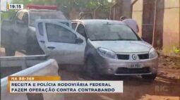 Receita e Polícia Rodoviária Federal fazem operação contra contrabando