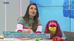 Roberto Carlos revelou como a pandemia afeta seu transtorno obsessivo compulsivo