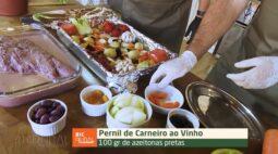 Receita do Pernil de Carneiro ao Vinho