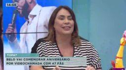 Belo vai comemorar aniversário por videochamada com 47 fãs