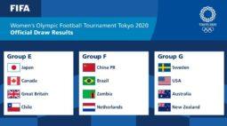 Brasil enfrenta China, Zâmbia e Holanda no futebol feminino das Olimpíadas