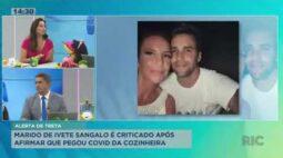 Marido de Ivete Sangalo é criticado após afirmar que pegou covid da cozinheira
