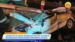Jovem de 22 anos morre em acidente em Foz do Iguaçu