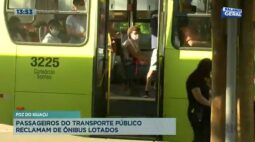 Passageiros do transporte público reclamam de ônibus lotados em Foz do Iguaçu