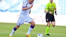 Fiorentina perde para o Sassuolo e ainda corre risco de rebaixamento