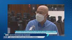 Novo pedágio do Paraná: deputados criticam proposta federal