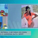 Rede de wi-fi pode ter entregado o retorno do casal Gusttavo Lima e Andressa Suita, será?
