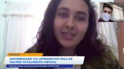 Alunos da Universidade Estadual de Maringá montam peça teatral totalmente virtual