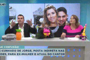 Ex-cunhado de Jorge posta indireta em suas redes para ex-mulher e atual do cantor