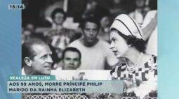 Marido da rainha Elizabeth morre aos 99 anos