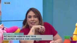 MC Maylon admite que teve relações sexuais com Anderson